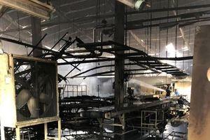 'Bà hỏa' bất ngờ viếng thăm công ty gỗ rộng 4.000 m2 ngày 28 Tết