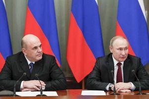 Chưa đầy 1 tuần sau biến động, Chính phủ mới của Nga đã được thành lập
