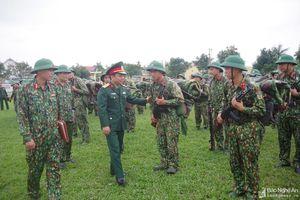 Bộ CHQS tỉnh kiểm tra công tác trực sẵn sàng chiến đấu