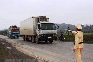 Xử lý nghiêm vi phạm giao thông ở các tuyến đường dịp Tết Nguyên đán