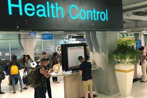Các sân bay tại Đông Nam Á tăng cường các biện pháp kiểm dịch