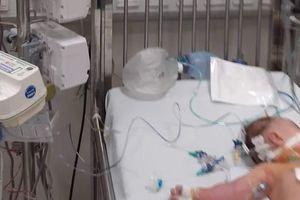 Bé gái bị sốc nặng vì uống sữa non Hàn Quốc trộn với sữa mẹ