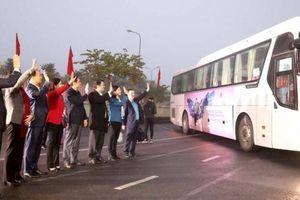Hà Nội: Hơn 2.000 chuyến xe đưa công nhân về quê đón Tết