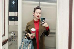 1 tuần sau sinh con thứ tư, Jennifer Phạm xinh đẹp 'phát hờn' đi sắm Tết