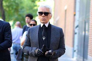 'Phạm Băng Băng' xứ Thái mô phỏng gu thời trang của Karl Lagerfeld tại Paris Fashion Week
