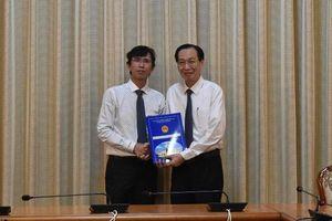Ông Nguyễn Anh Thi giữ chức vụ Trưởng Ban Quản lý Khu Công nghệ cao TP
