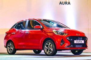 Xe giá rẻ Hyundai Aura 'chốt' giá bán từ 210 triệu đồng