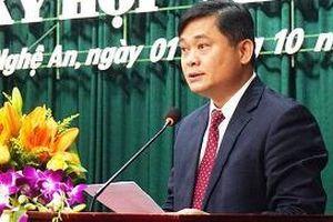 Đồng chí Thái Thanh Quý được bầu giữ chức Bí thư Tỉnh ủy Nghệ An
