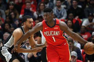 Bùng nổ trong hiệp 4, Zion Williamson ra mắt chưa trọn vẹn trong ngày New Orleans Pelicans thất bại trước San Antonio Spurs