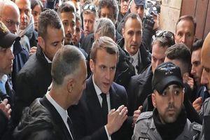Ông Macron mất bình tĩnh với an ninh Israel ở Jerusalem