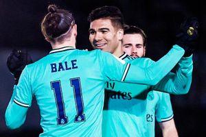 Bale ghi bàn trong ngày trở lại đội hình Real