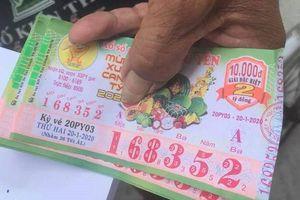 Truy tìm thanh niên lừa đổi vé số giả của ông lão 71 tuổi