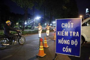 9 tỉnh thành đã xử phạt người điều khiển xe đạp, xe máy điện vi phạm nồng độ cồn