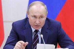 Tổng thống Putin nói về thử nghiệm thay đổi chế độ