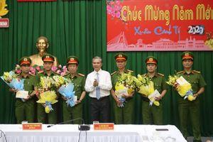 Lãnh đạo TP.HCM thăm và khen thưởng cho lực lượng phá vụ trọng án đốt nhà