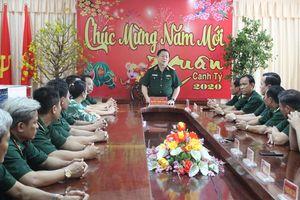 Thượng tướng Nguyễn Trọng Nghĩa thăm, chúc tết BĐBP Tiền Giang