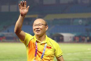 HLV Park Hang-seo gửi lời chúc Tết tới người hâm mộ Việt Nam