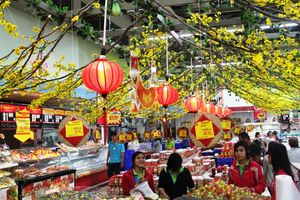 Thị trường ngày 29 Tết: Hàng hóa Tết đảm bảo tiêu chí hai 'không'