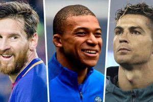 Mbappe: 'Quá muộn để được như Messi, tôi chỉ muốn ngang tầm Ronaldo'