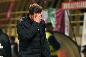 Atletico Madrid thua ngược đội hạng ba ở Copa del Rey