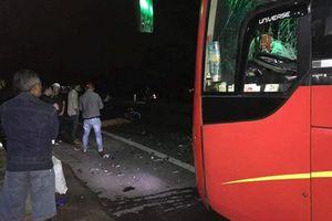 Đi họp lớp về, 3 thanh niên tử vong dưới gầm xe khách đêm 29 Tết