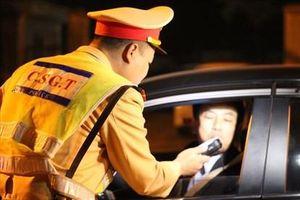 Cảnh sát giao thông sẽ duy trì xử lý 'ma men' trong 7 ngày Tết