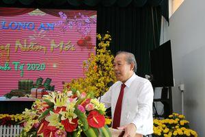 Phó Thủ tướng Trương Hòa Bình chúc tết tại tỉnh Long An