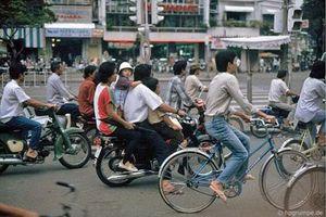 Kho ảnh khổng lồ về Việt Nam 1991-1993: Giao thông Sài Gòn