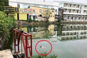 Người dân hoảng hốt phát hiện thi thể nam giới nổi trên mặt hồ ngày 30 Tết