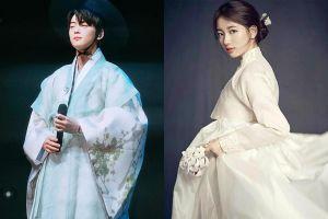 Suzy và dàn sao Hàn trông thế nào khi mặc hanbok đón Tết?