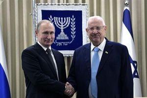 Từ Jerusalem, ông Putin nói về nhiệm vụ chung của Nga-Israel