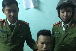 Mang ma túy 'chơi' đêm giao thừa, một thanh niên bị bắt giữ