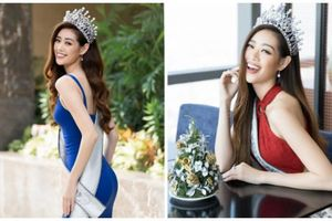 Ngắm ảnh xinh ngất ngây của Hoa hậu Khánh Vân