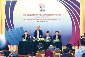 Thứ trưởng Ngoại giao Nguyễn Quốc Dũng: Tin tưởng hoàn thành tốt nhiệm vụ Chủ tịch ASEAN 2020