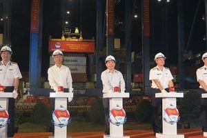 55 chuyến tàu cập cảng Cát Lái trong dịp Tết