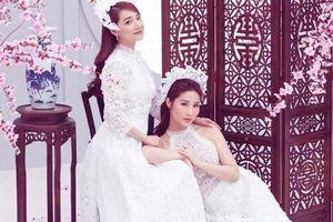 'Chị chị em em' Nhã Phương - Diễm My 9x đẹp xuất thần trong bộ ảnh đón xuân Canh Tý