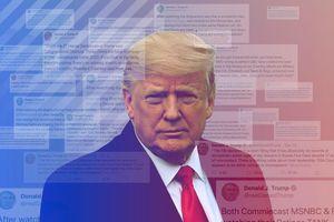 Ông Trump lại lập kỷ lục mới về số lượng tweet một ngày