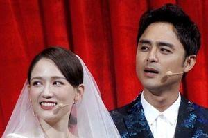 Trần Kiều Ân và Minh Đạo 'cưới' trên sân khấu dịp đầu năm
