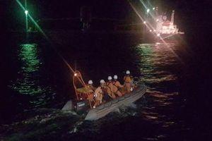 Ứng cứu thuyền viên tàu nước ngoài đột quỵ trên biển ngày mùng 1 Tết