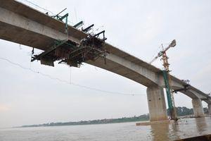 Tháng 3/2020, thông xe cầu Thịnh Long vượt sông Ninh Cơ, Nam Định