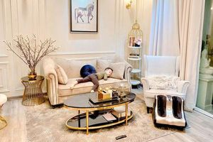 Ly Kute khoe tổ ấm sang chảnh đón Tết, ai cũng trầm trồ vì nhà đẹp lại còn nằm trong khu đắt đỏ nhất nhì Hà Nội