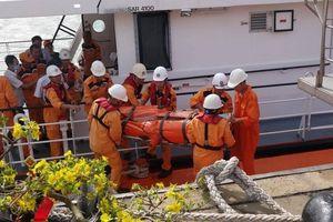 Xuyên đêm cứu thuyền viên nước ngoài bị đột quỵ trên biển ngày đầu năm