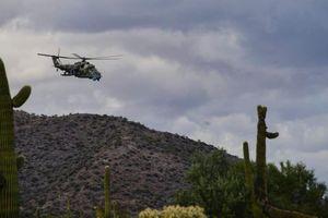 Không quân Mỹ tập trận với trực thăng Nga