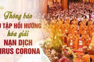 Ban trị sự Giáo hội Phật giáo Việt Nam lên tiếng việc sư thầy Thích Trúc Thái Minh hóa giải dịch cúm Coronavirus