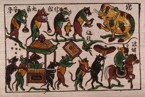 Năm Tý ngẫm lại những dấu ấn của chuột trong văn hóa dân gian