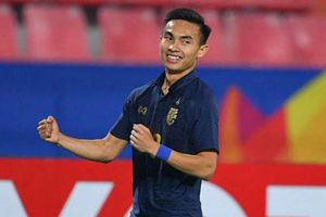 Sao Thái Lan giành ngôi Vua phá lưới U23 châu Á