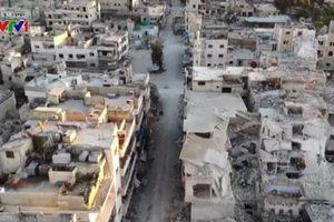 Quân đội Syria thu hẹp phạm vi kiểm soát của phiến quân