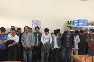 Hà Tĩnh: Bắt giữ 38 trường hợp tàng trữ, sử dụng pháo