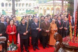 Lãnh đạo Đảng, Nhà nước, TP Hà Nội: Dâng hương, trồng cây đầu xuân tại Hoàng Thành Thăng Long