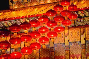 Sắc đỏ ngập tràn trong dịp Tết Âm lịch tại Trung Quốc